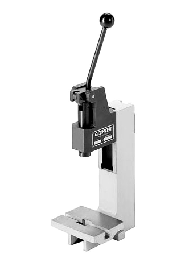 Manual toggle presses | Gechter The press specialist